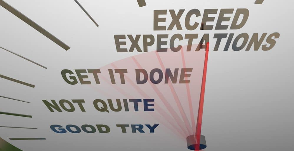 Rule #1: Be Prepared to Meet Expectations