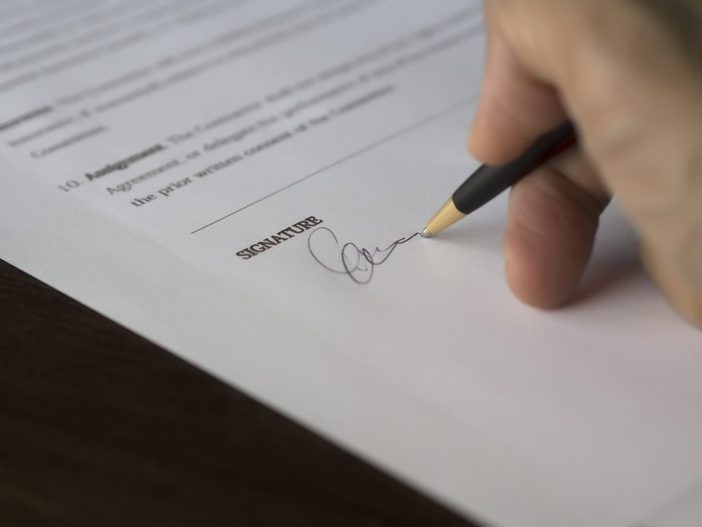 cleaning company contract