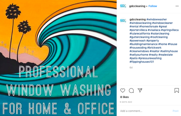 window cleaning advertising ideas