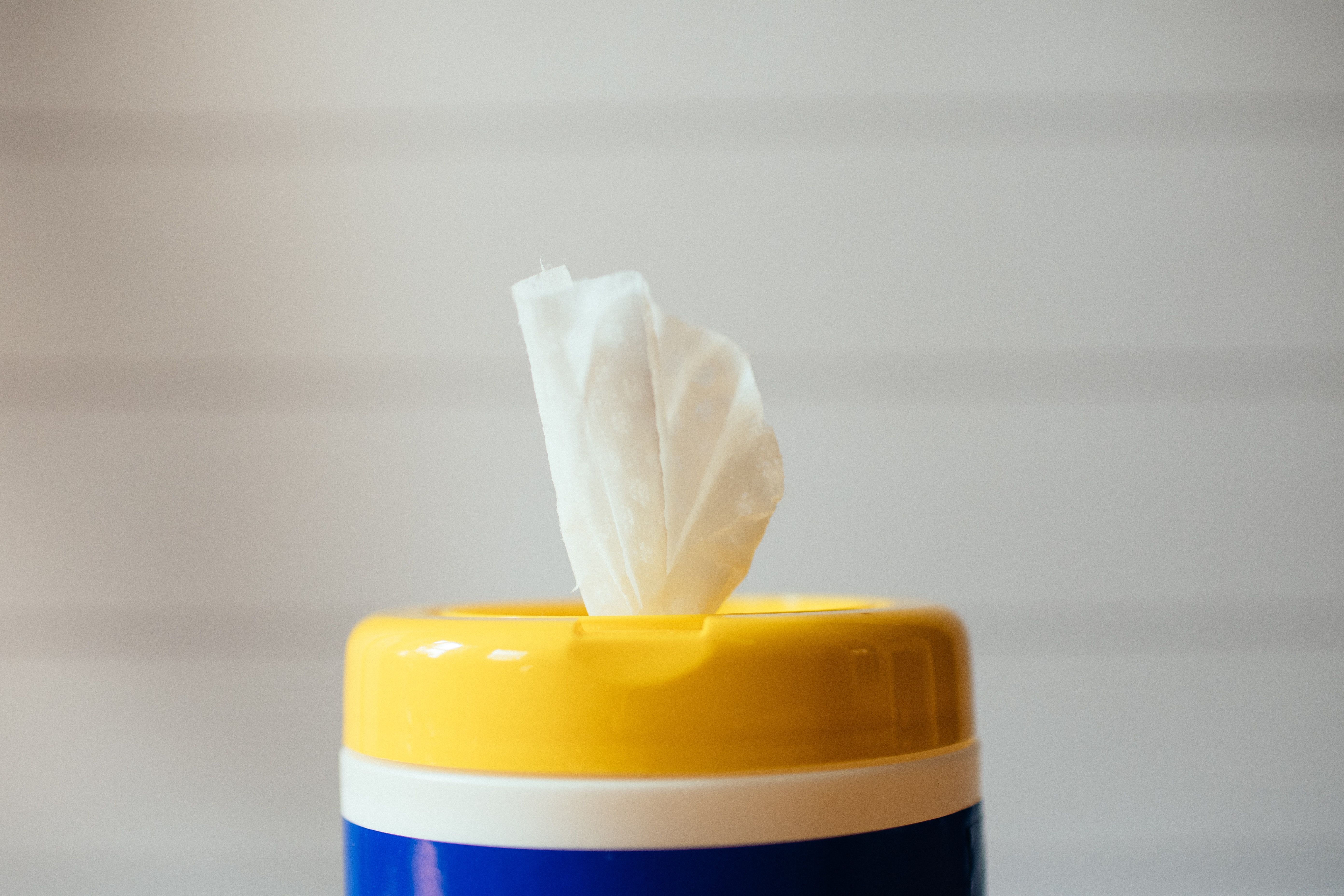 frequent cleaning using wipes