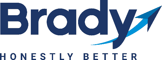 Brady Industries Logo - Honestly Better