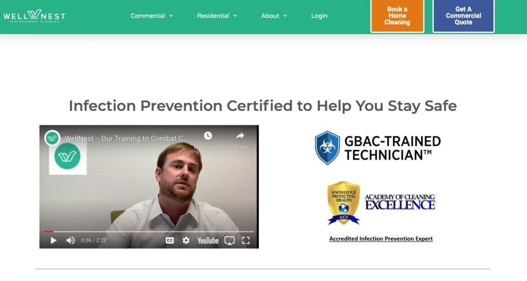 infection control certification